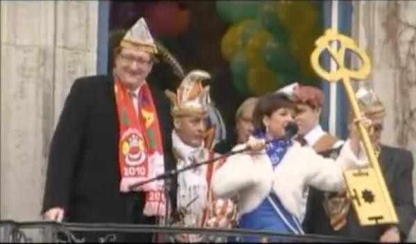 carnaval en dusseldorf alemania