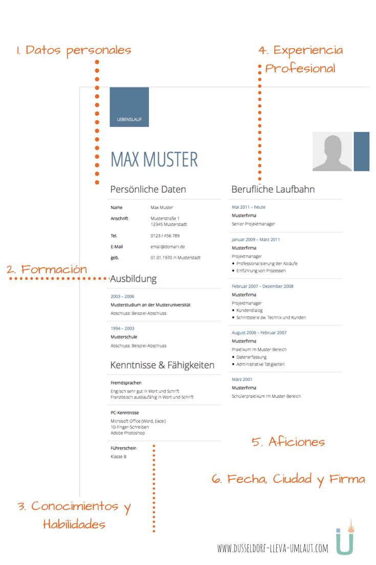 Curriculum Vitae Aleman 6 Pasos Para Un Cv Perfecto